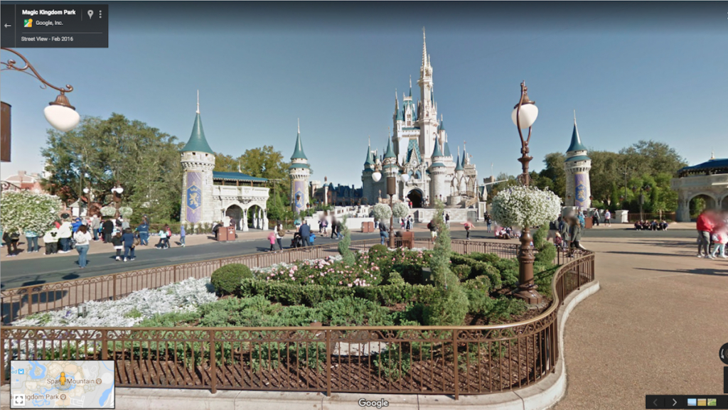 Be A Virtual Guest: Google Maps Adds Disney Parks To Street View - Google Maps Orlando Florida Street View