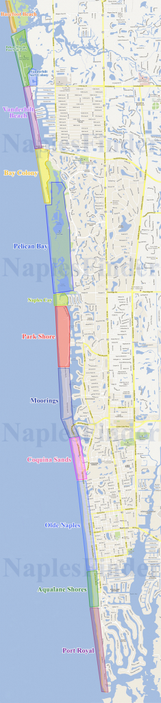 Beachfront Properties In Naples Fl | Naples Real Estate On The Beach - Naples Florida Real Estate Map Search