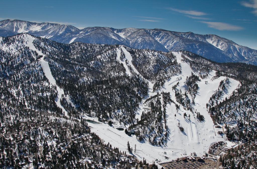 Bear Mountain (Ski Area) - Wikipedia - Big Bear Mountain Map California