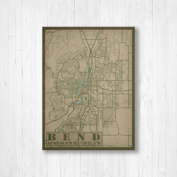 Printable Map Of Bend Or
