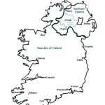 Best Photos Of Ireland Map Outline Printable   Ireland Map Outline   Printable Black And White Map Of Ireland