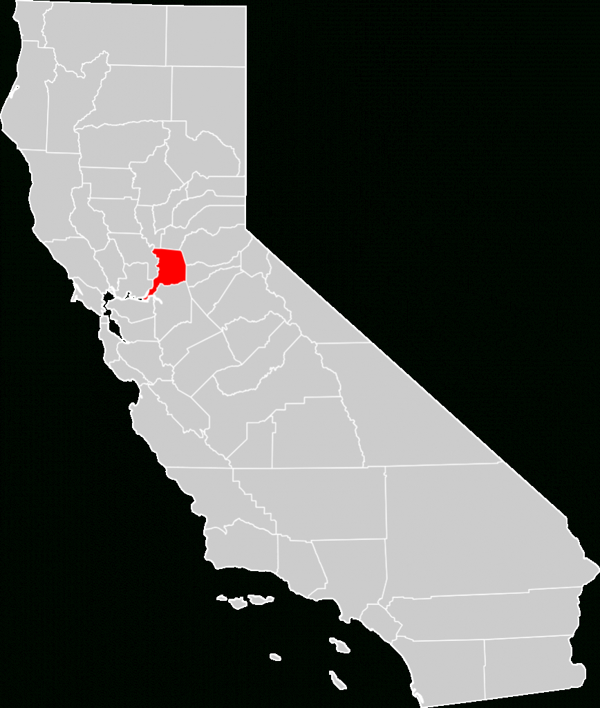 Bestand:california County Map (Sacramento County Highlighted).svg - Sacramento California Map