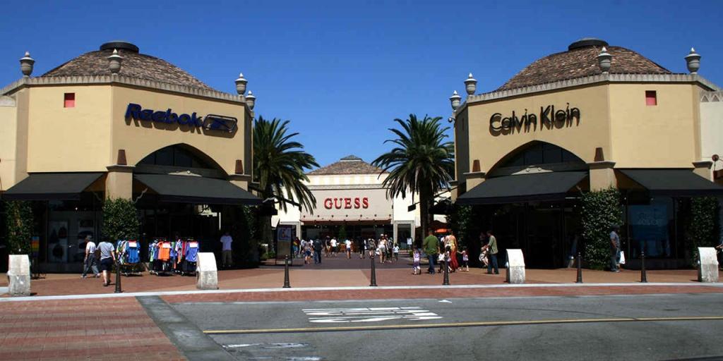 Big-Bargain Outlet Malls | Visit California - Southern California Outlet Malls Map