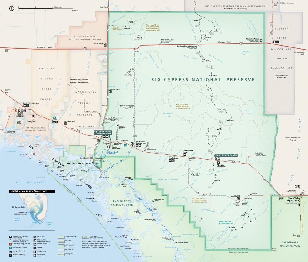 Big Cypress Maps | Npmaps - Just Free Maps, Period. - Tamiami Trail Florida Map