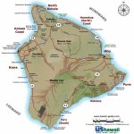 Big Island Of Hawaii Maps   Map Of The Big Island Hawaii Printable