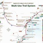 Bike Riding Map For North Lake Tahoe – Www.tahoelaurarealestate   Tahoe City California Map