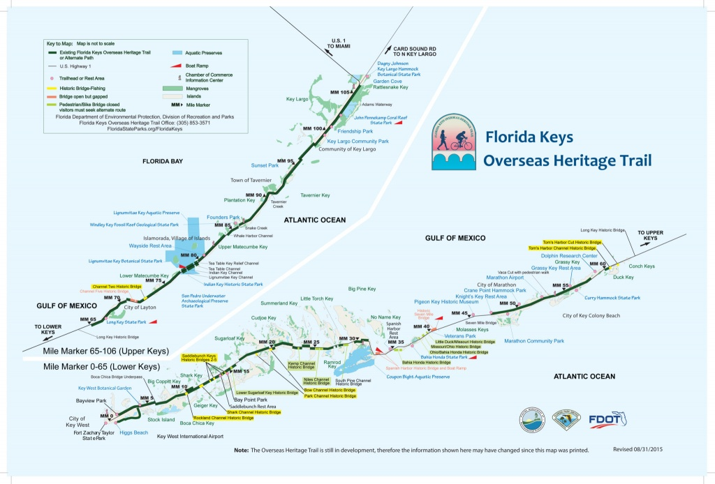 Biking The Florida Keys Overseas Heritage Trail | Florida Rambler - Florida Keys Highway Map