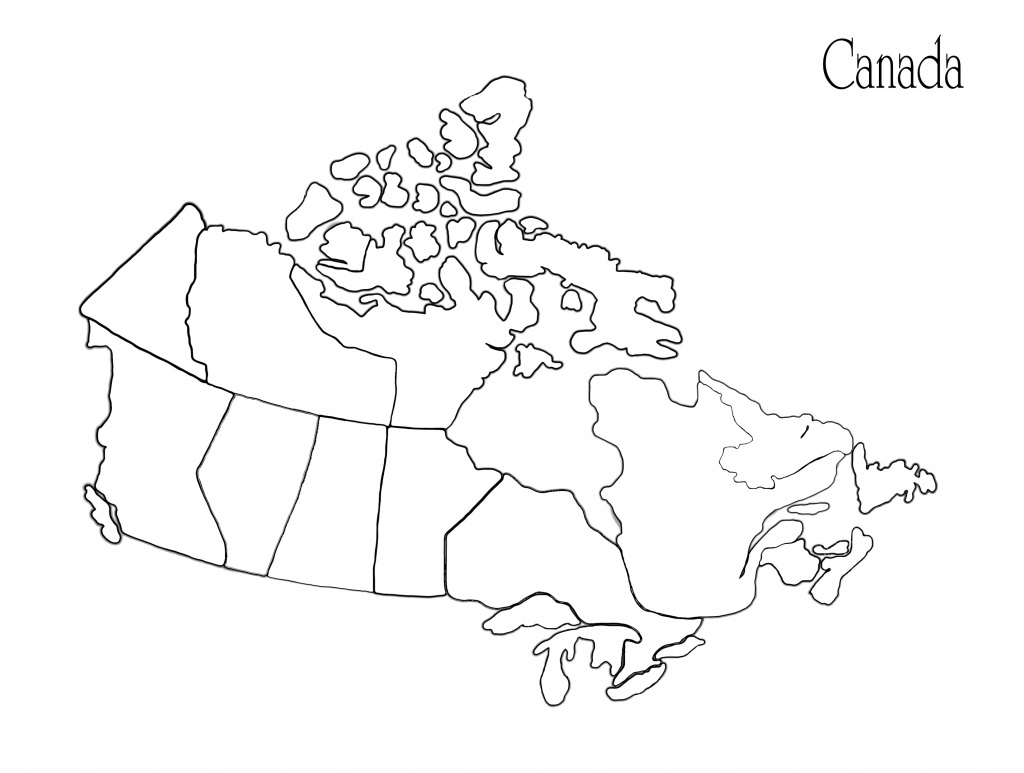 Blank Africa Map Printable Valid Printable Maps Canada Awesome - Printable Map Of Canada
