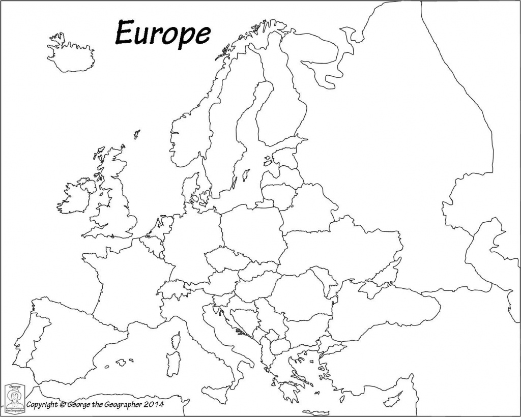 Blank Europe Political Map - Maplewebandpc - Printable Blank Physical Map Of Europe