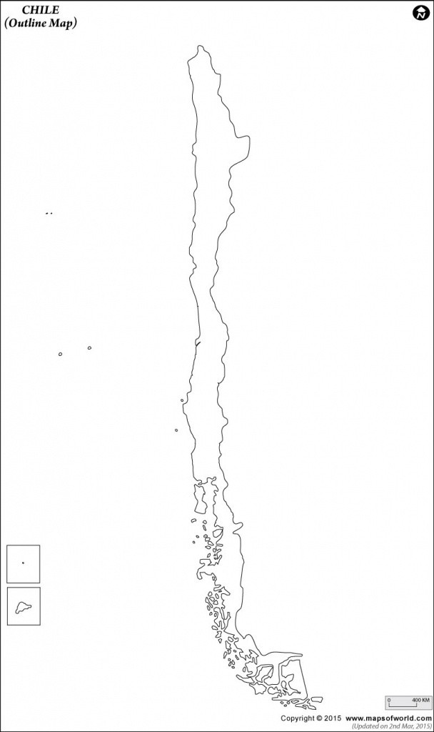 Blank Map Of Chile   Chile Outline Map - Printable Map Of Chile