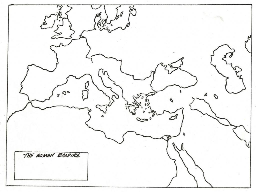 Blank Map Of Roman Empire | Cc History | Roman Empire, Ancient World - Roman Empire Map For Kids Printable Map