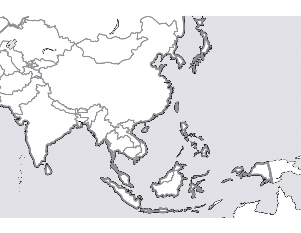 Blank Map Of Southeast Asia In And South Pacific Quiz Australia - Printable Blank Map Of Southeast Asia