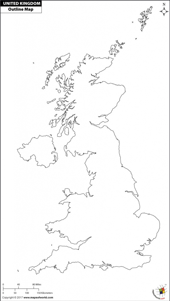 Blank Map Of Uk | Outline Map Of Uk - Uk Map Outline Printable