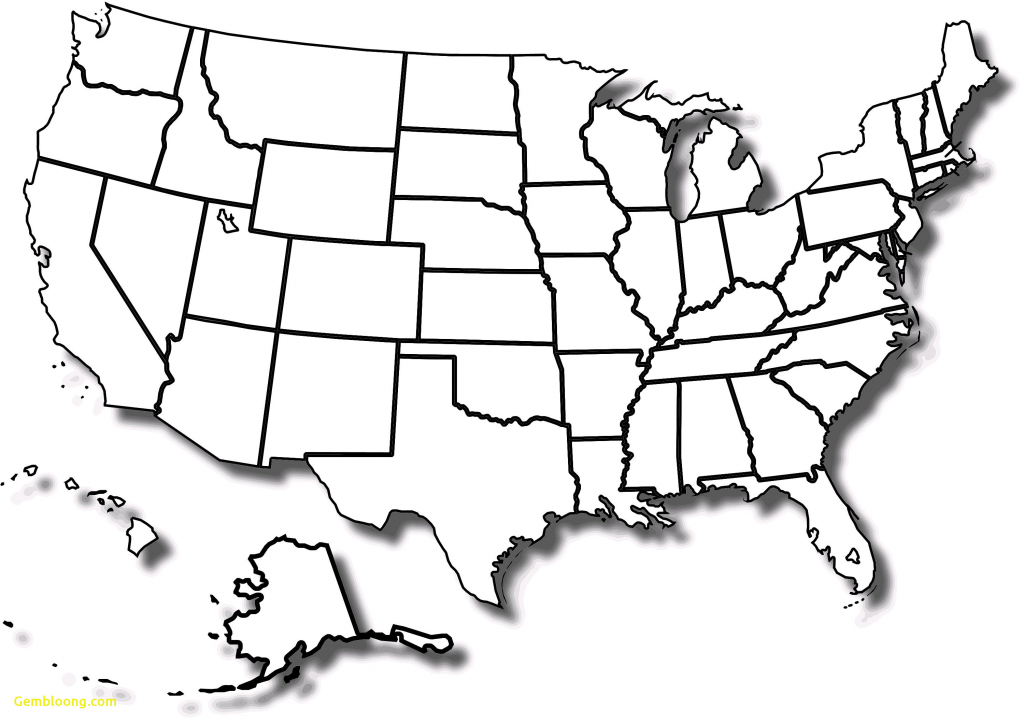 Blank Us State Map Printable Usamap New Beautiful Us Map Unlabeled 3 - Us Map Unlabeled Printable