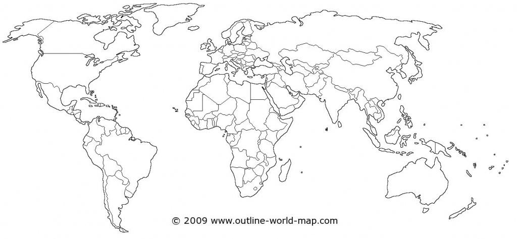 Blank World Map Printable Scrapsofmeme Outline In Pdf Labeled Map - World Map Outline Printable Pdf