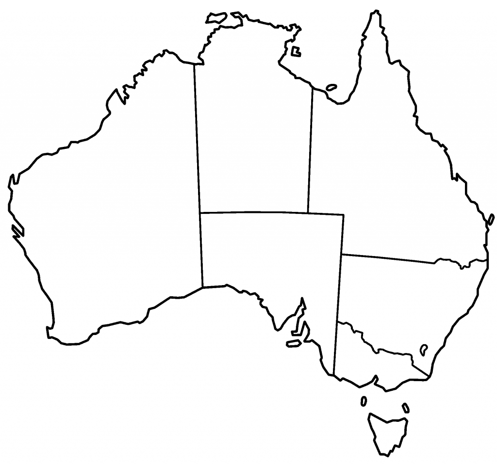 Blank+Australia+Maps | Thread: Blank Australia Map | What Im Doin - Printable Map Of Australia