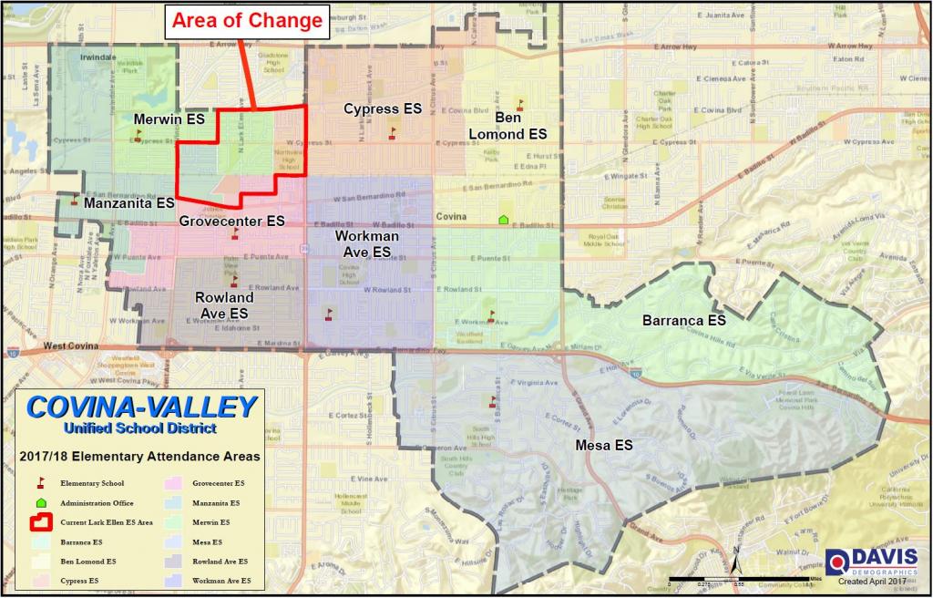Boundary Map / Info - West Covina California Map