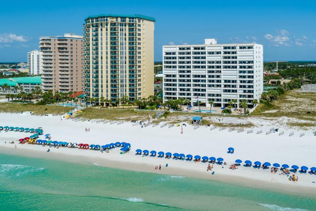 Breakers East ~ Destin, Florida Vacation Condossouthern - Map Of Destin Florida Condos