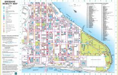 Brisbane City Center Map – Printable Map Of Brisbane