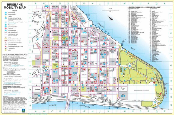 Printable Map Of Brisbane