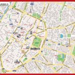 Brussels City Map Printable   Printable Map Of Brussels City Centre   Printable Map Of Lille City Centre