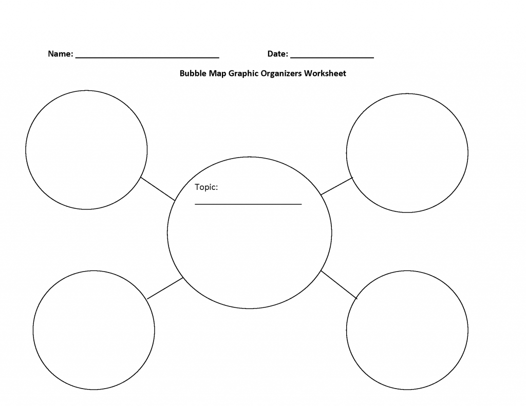 Bubble Map Printable - Sazak.mouldings.co - Free Printable Circle Map Template