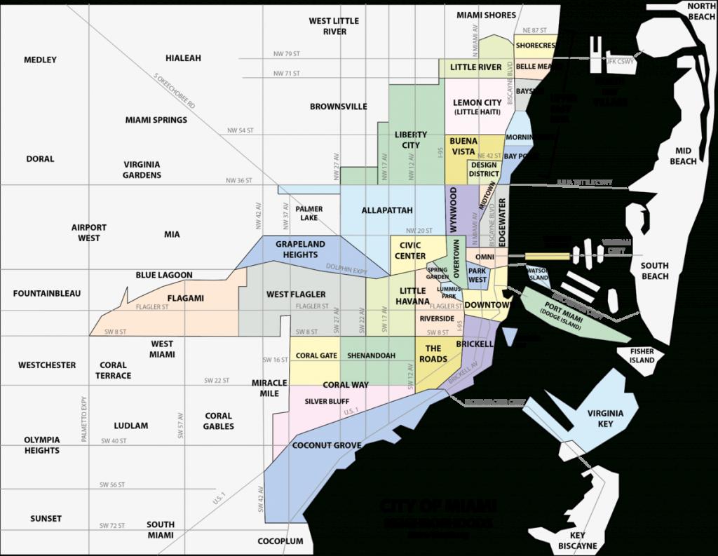 Buena Vista (Miami) - Wikipedia - Map Of The Villages Florida Neighborhoods