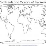 Bunch Ideas Of Blank World Map Continents Pdf For Your Best With   World Map Continents Outline Printable