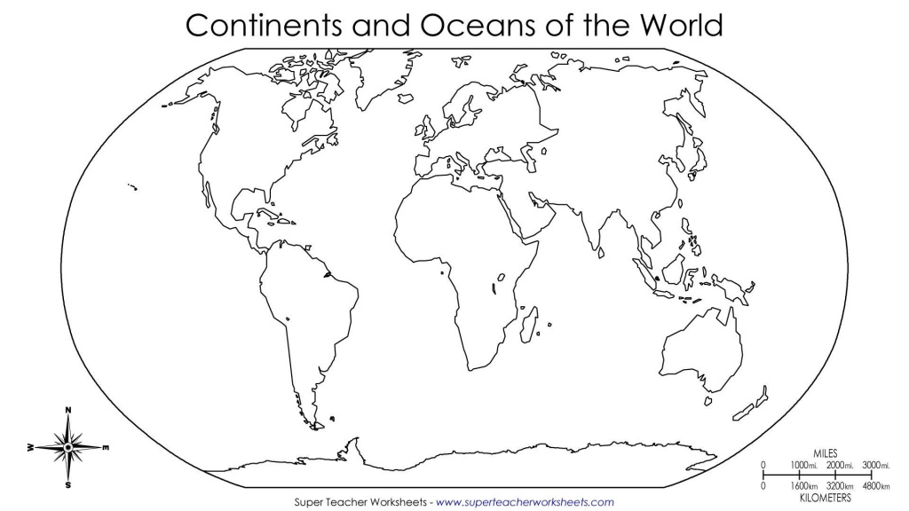 Bunch Ideas Of Blank World Map Continents Pdf For Your Best With - World Map Continents Outline Printable
