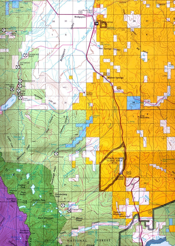 Buy And Find California Maps: Bureau Of Land Management: Northern - Buy Map Of California