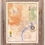 Buy Texas Revolution Map 1836 Large Framed – Republic Of Texas – Texas Map Framed Art