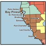 C.w. Bill Young Department Of Veterans Affairs Medical Center   Bay   Bay Pines Florida Map