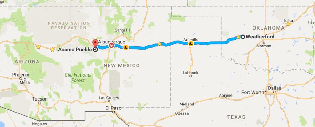 Cadillac Ranch – Wow! | Travel With J.j. - Cadillac Ranch Texas Map