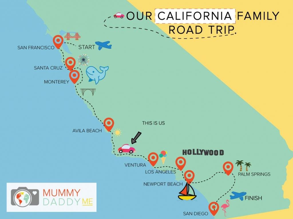 Cali Map Fin Gallery Of Art California Road Trip Map 19 Cali Map - California Road Trip Map