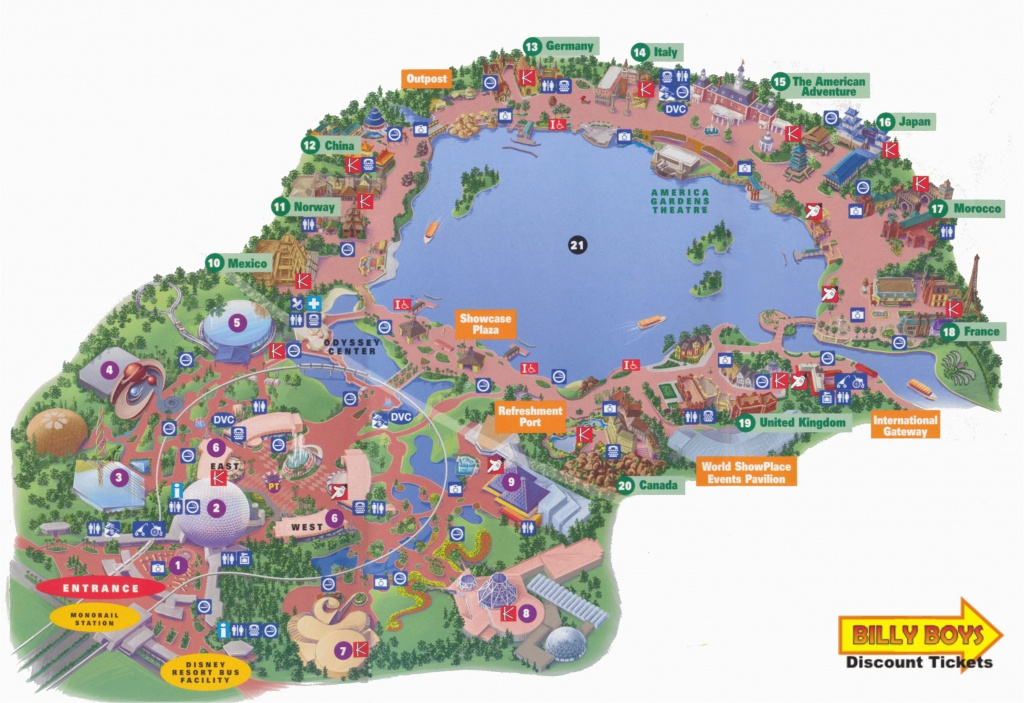 California Adventure Land Map Map Of Disney California Adventure - Printable California Adventure Map