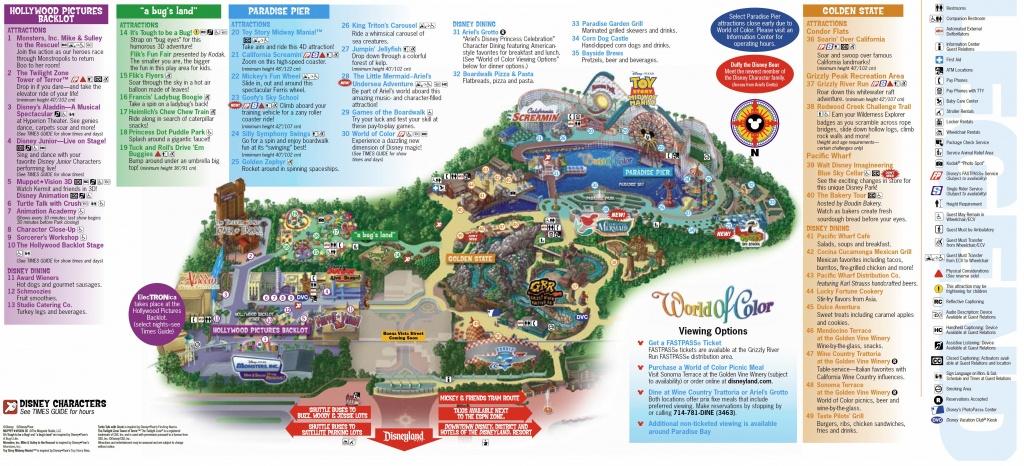 California Adventure Map Pdf Disneyland My Blog Inside   D1Softball - California Adventure Map Pdf