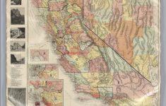 Rand Mcnally California Map