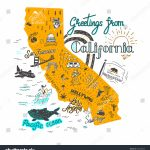 California Attractions Map | Dehazelmuis   California Roadside Attractions Map