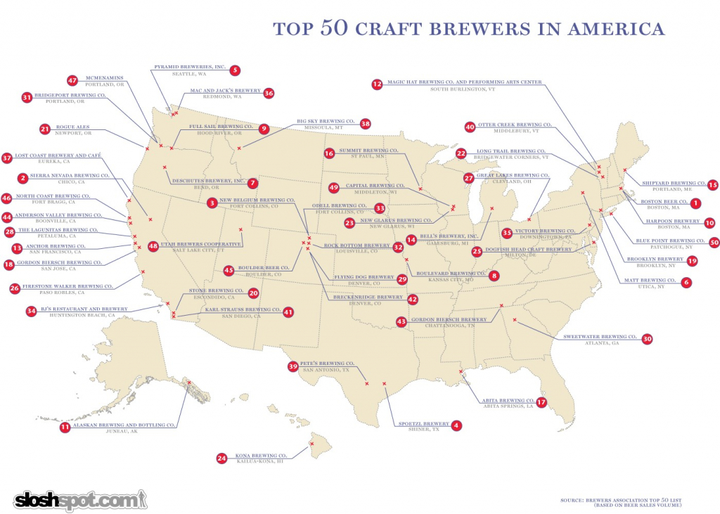 California Brewery Map Brewers The Brew Babes Beer Blog Within - California Beer Map