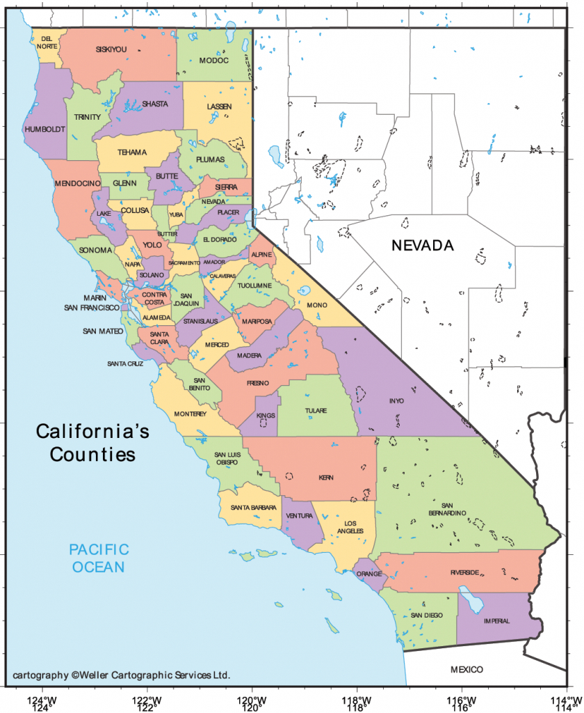 California Cities Map • Mapsof - Map Of California Cities