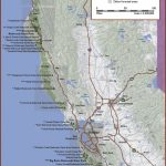 California | Click On Grey Boxes To View Regional Maps; Click On   Northern California Hiking Map