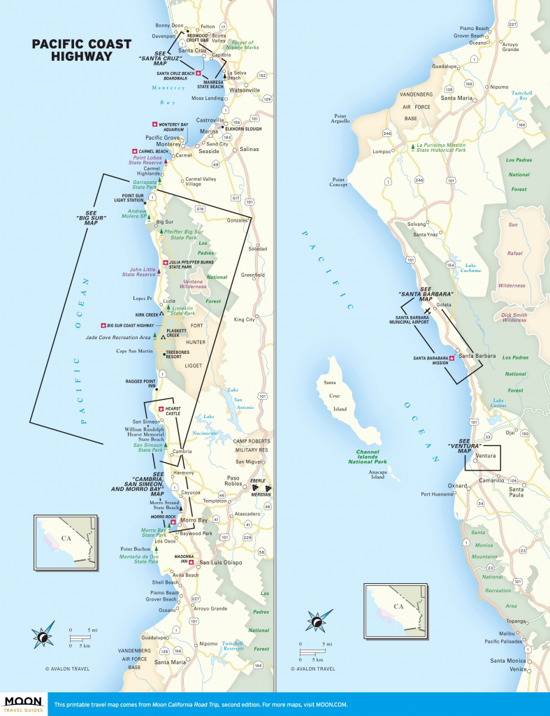 California Coast Bike Route Map – Map Of Usa District - California Coast Bike Route Map
