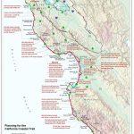 California Coastal Trail   Northern California Hiking Map