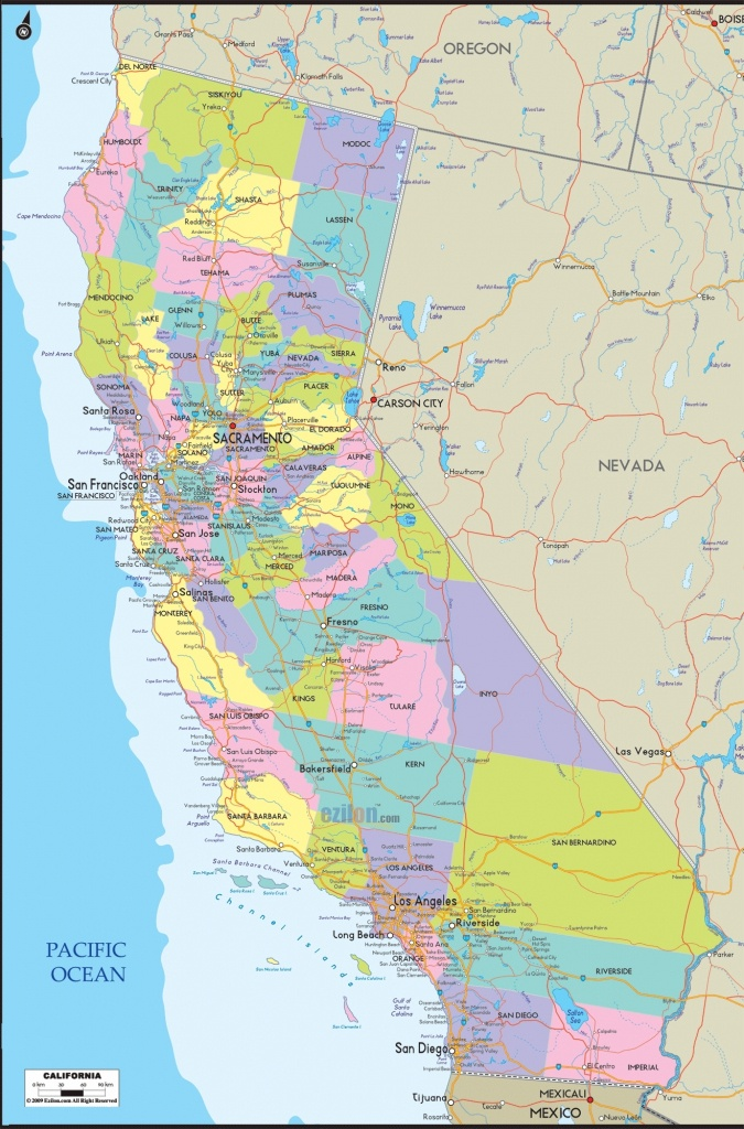 California County Map With Roads Google Maps California California - Google Maps California Cities