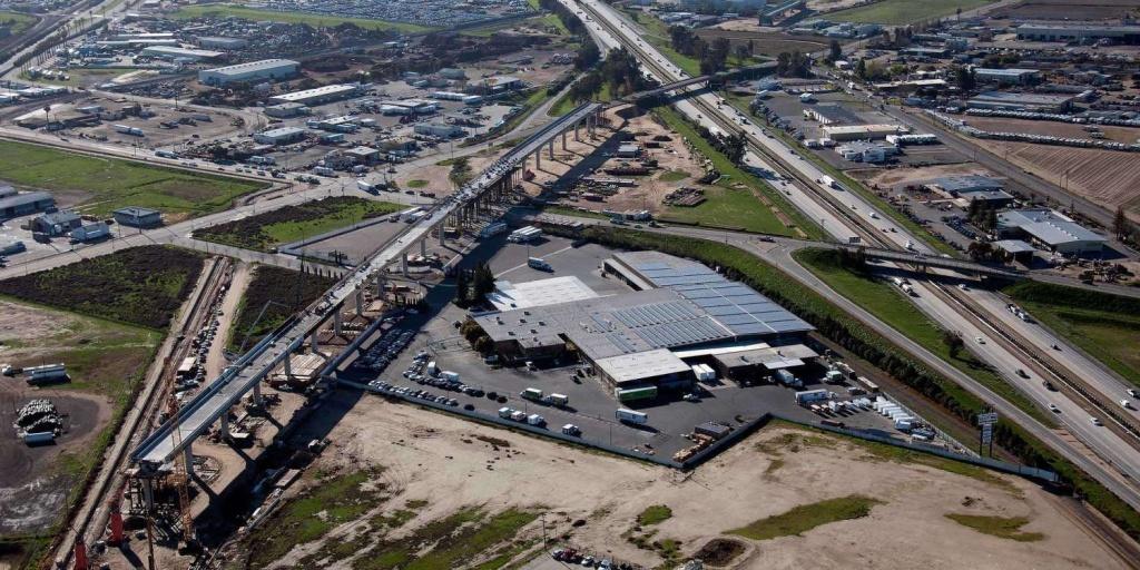 California High-Speed Rail: Under Construction And Moving Forward | Spur - California High Speed Rail Progress Map