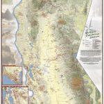 California Hiking Map   Northern California Hiking Map