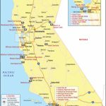 California Hotels Map, List Of Hotels In California   California Cities Map List