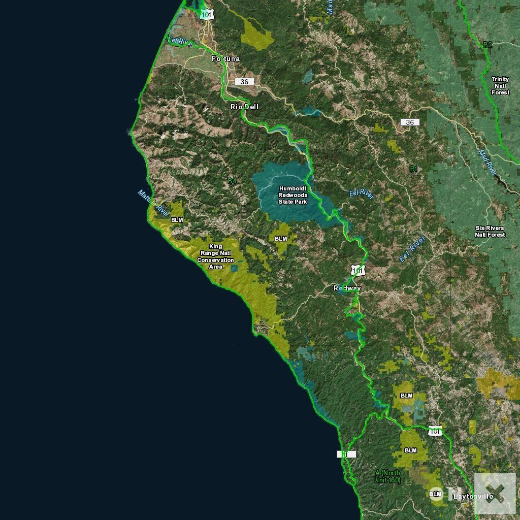 California Hunt Zone B4 Deer - California B Zone Deer Hunting Map