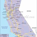 California Road Map, California Highway Map   California County Map With Roads
