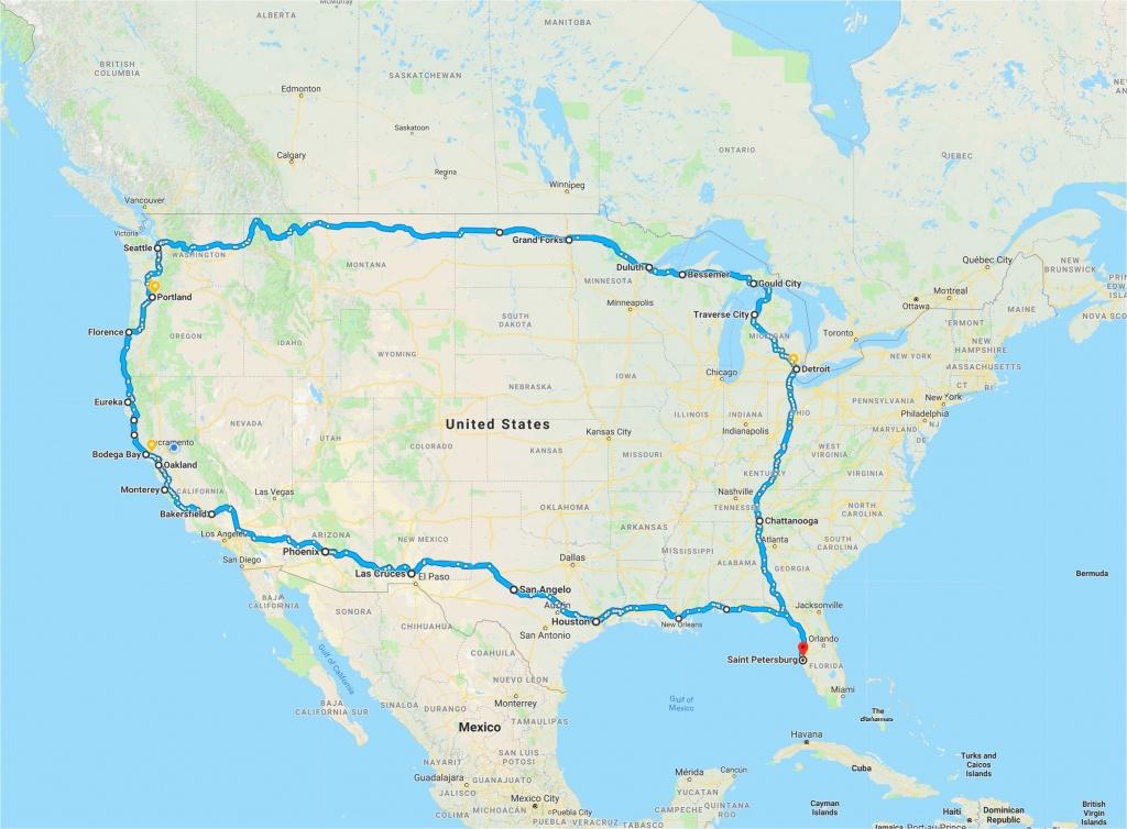 California Road Trip Trip Planner Map   Secretmuseum - California Trip Planner Map